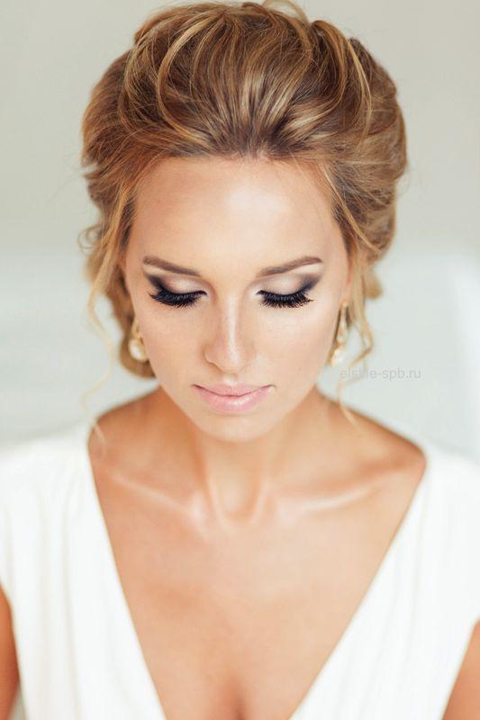 errores de maquillaje de ojos: Maquillaje natural novias