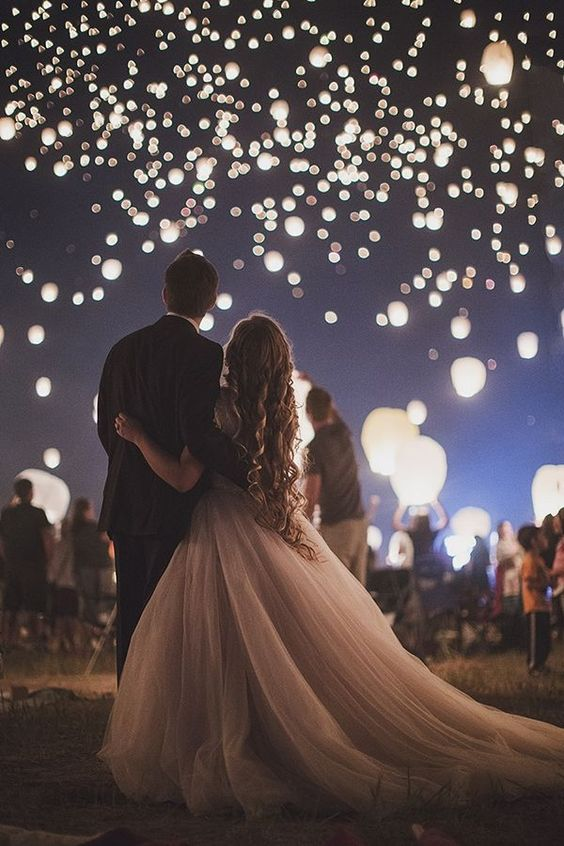 tradiciones de boda: Bodas de noche
