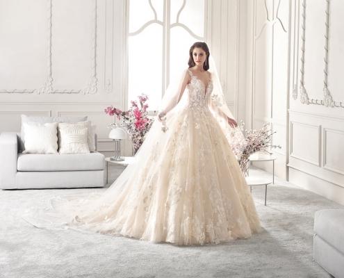 Vestido princesa Demetrios