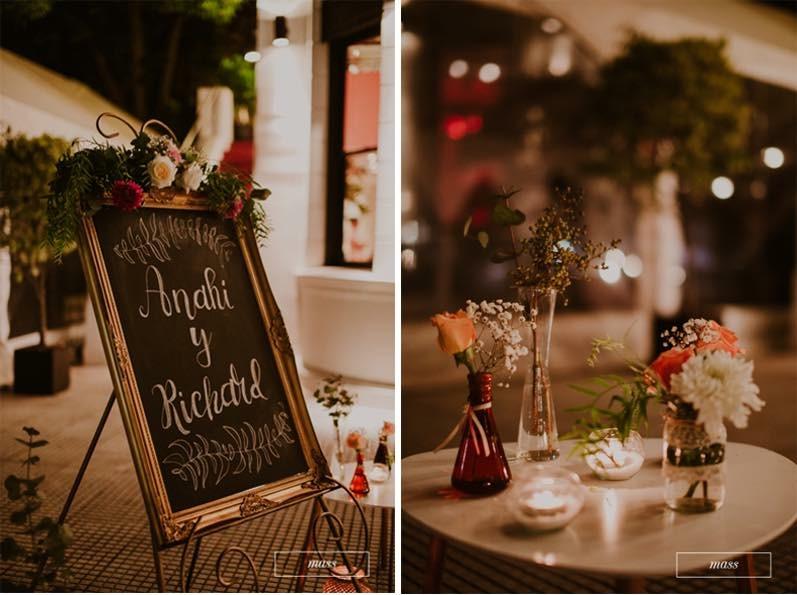 Detalles básicos para bodas